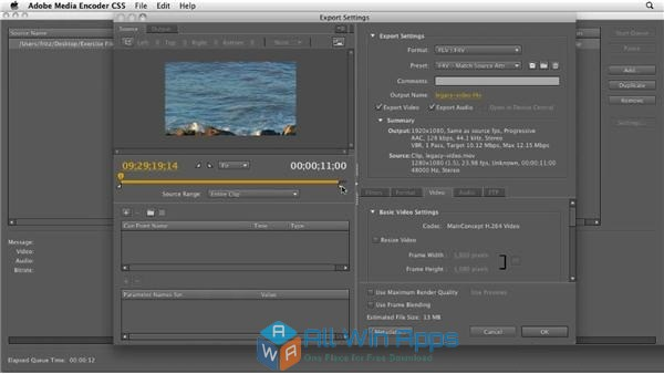 Adobe Media Encoder CC 2017 latest version free download