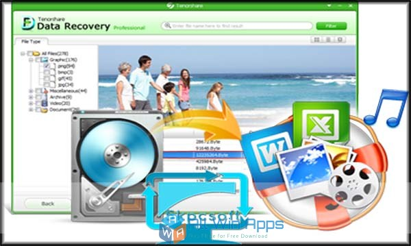 Free Download Tenorshare Any Data Recovery Pro