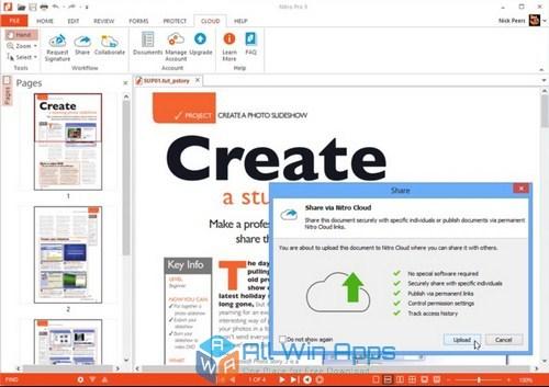Nitro Professional 11 Latest Version Free Download offline installer