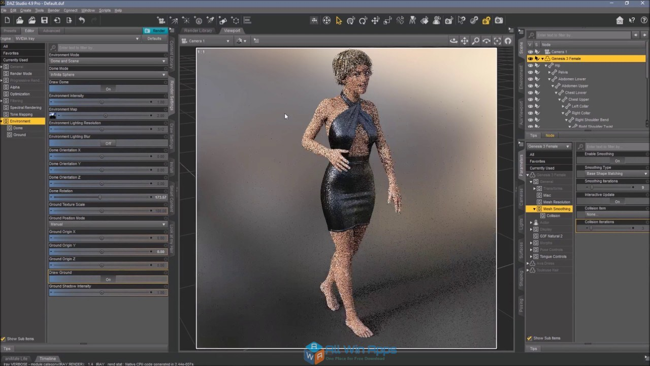 DAZ Studio Pro 4 9 Free Download - All Win Apps