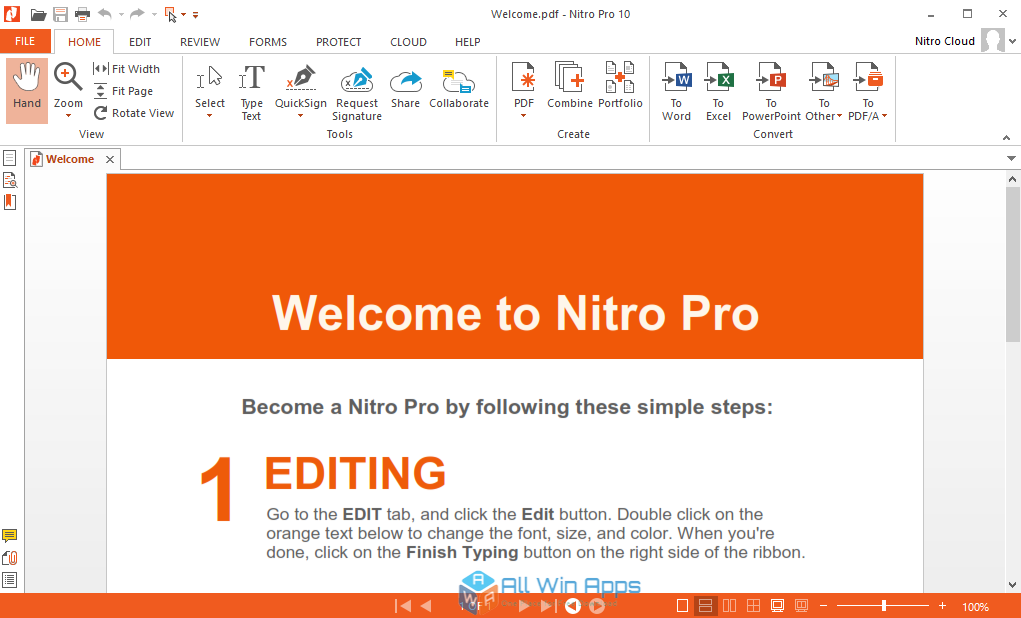 nitro pro 11 download direct link