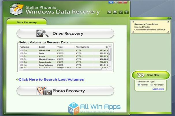 stellar phoenix windows data recovery free download full version