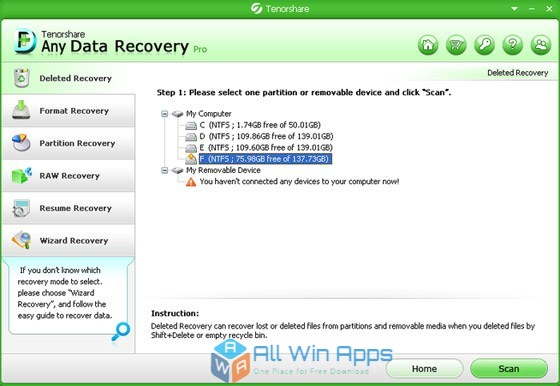 tenorshare any data recovery pro download