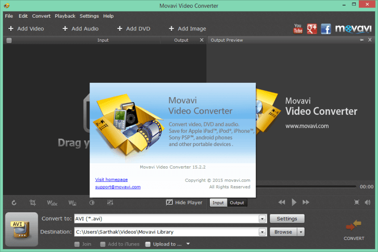 Movavi Video Converter 18 free download full version