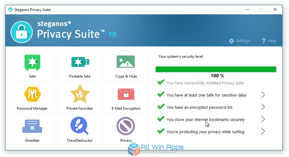 Steganos Privacy Suite 19 Free Download latest version