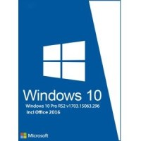 Windows 10 Pro RS2 15063 x64 with Office 2016 Free Download