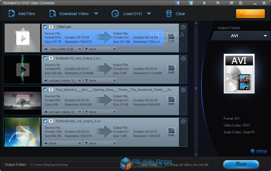 WonderFox DVD Video Converter latest version download