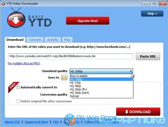 YTD Video Downloader 2018 free download full version