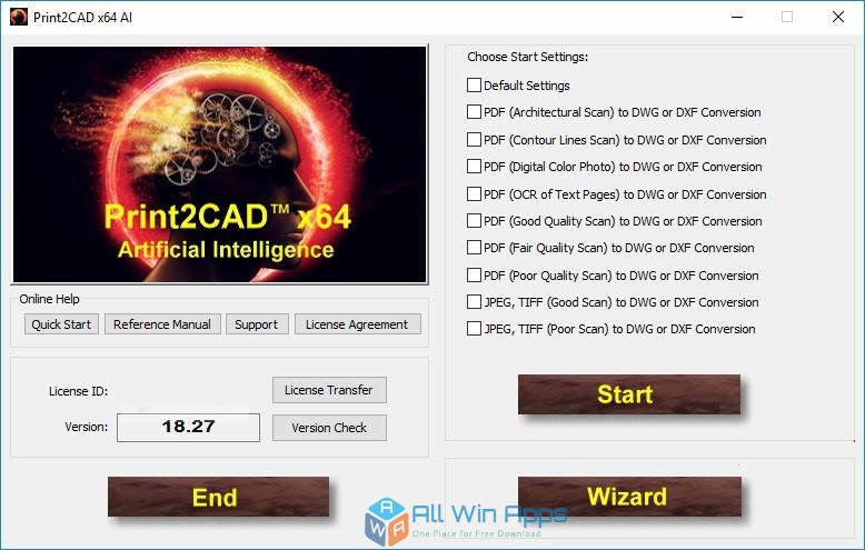 Print2CAD 2018 free download full version
