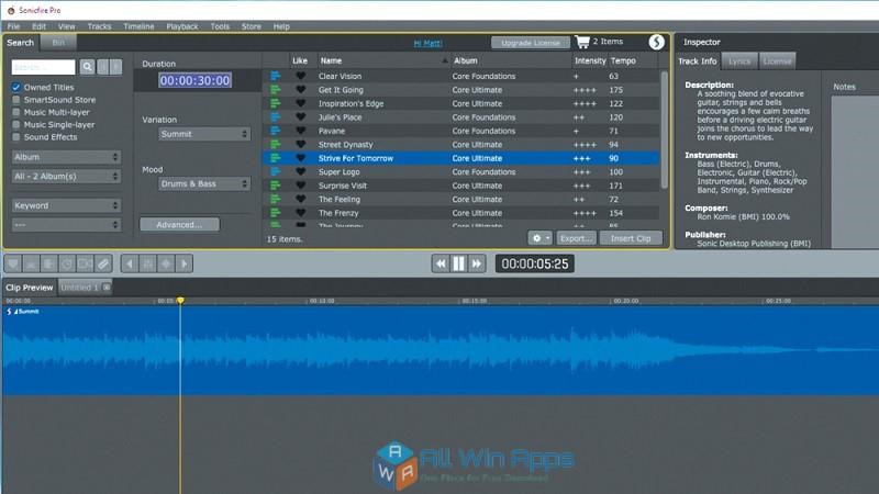 SmartSound Sonicfire Pro 6.0 Offline Installer Download