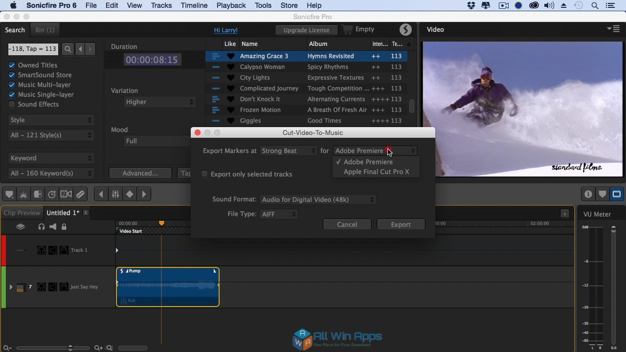 SmartSound Sonicfire Pro 6.0 free download full version