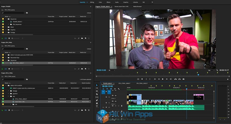 Adobe Premiere Pro CC 2018 12.1 free download full version