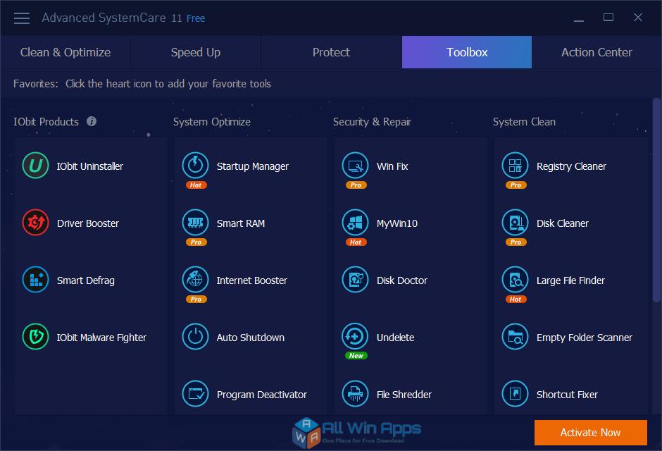 Advanced SystemCare Offline Installer Download