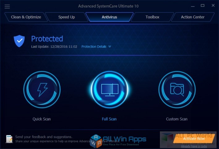 Advanced SystemCare free download full version