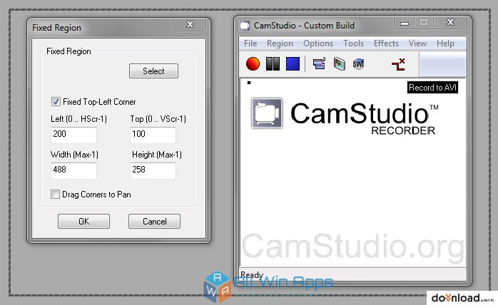 CamStudio Screen Recorder Direct Link Download