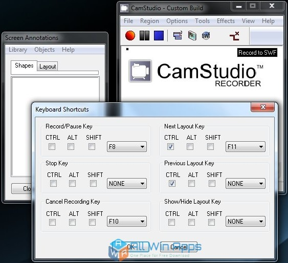 CamStudio Screen Recorder Offline Installer Download