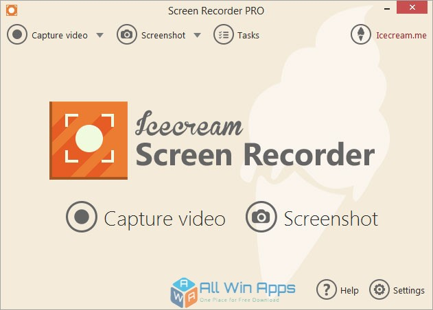 IceCream Screen Recorder FOffline Installer Download