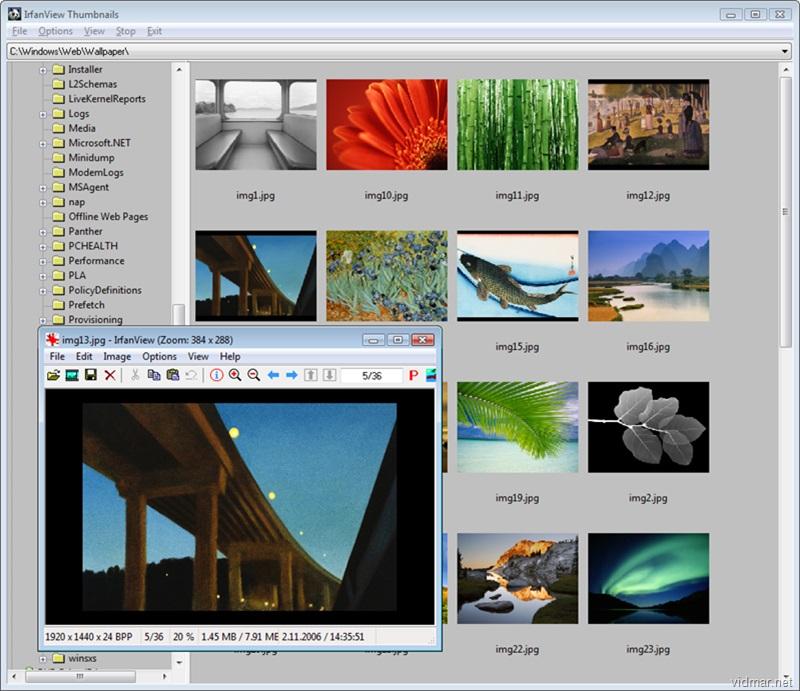 IrfanView (64 bit) windows 10