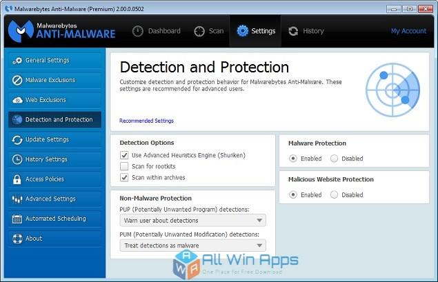 Portable Malwarebytes Anti-Malware Premium free download full version