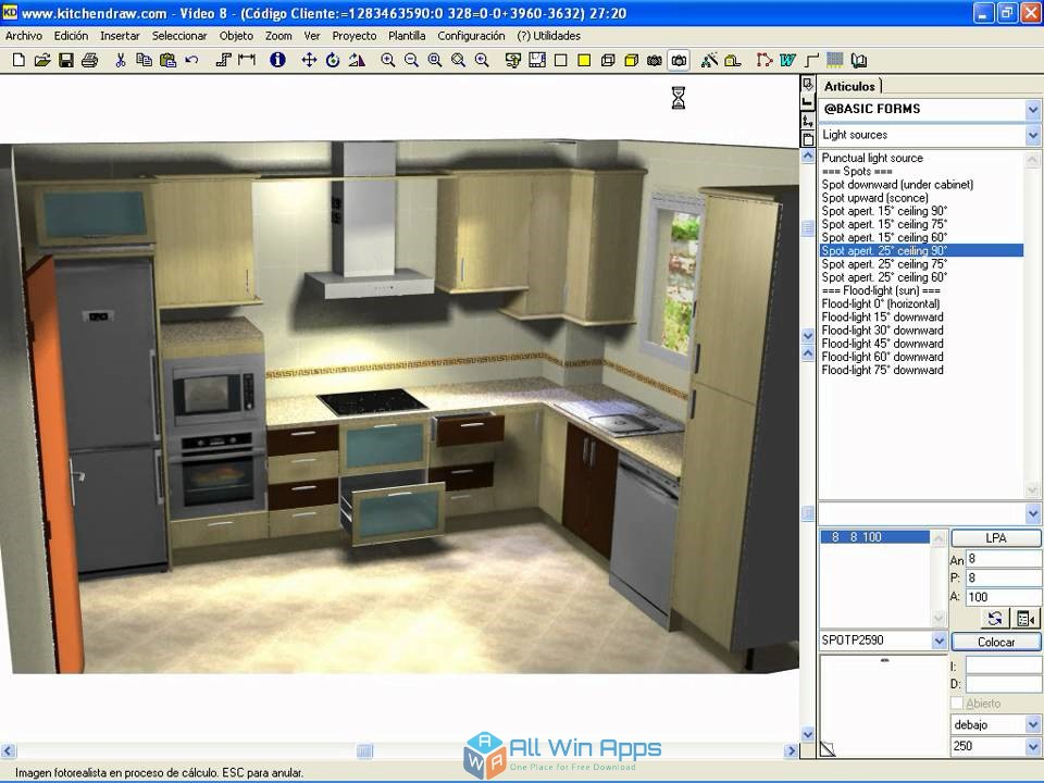 KitchenDraw 6.5 free download full version