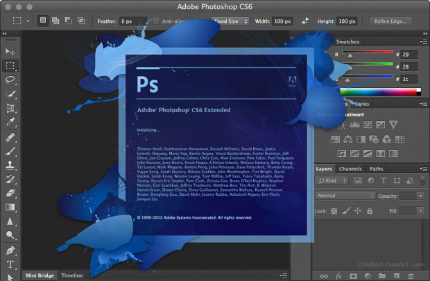 Free Download for Windows PC Adobe Photoshop CS6 Extended Portable