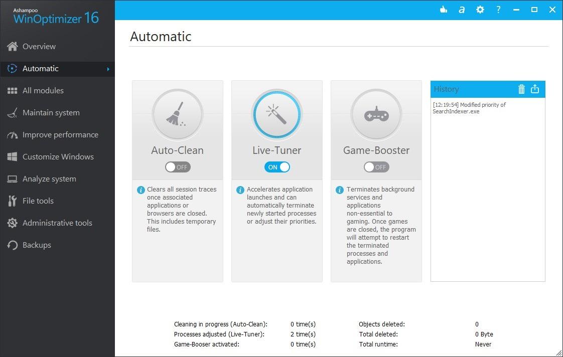 Offline Installer Download Ashampoo WinOptimizer 16
