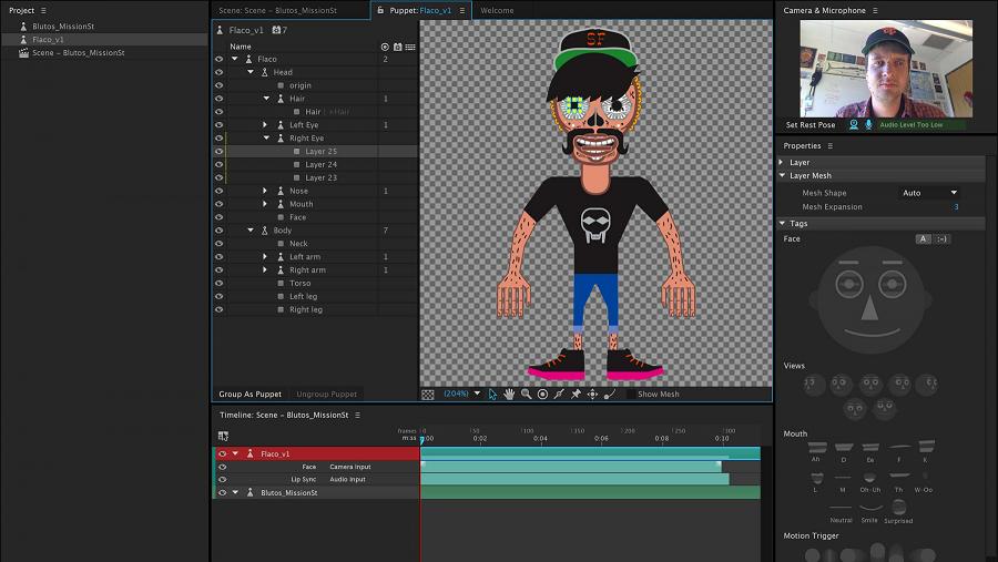 Free Adobe Character Animator CC 2019Latest Version Download