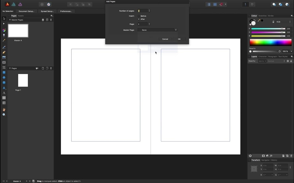 Free Download for Windows PC Serif Affinity Publisher 1.7