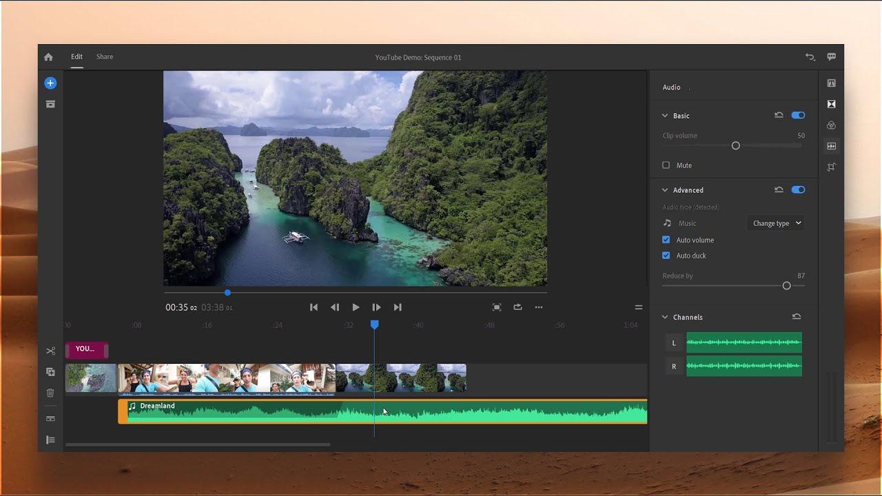 Adobe Premiere Rush CC 2019 Free Download for Windows PC