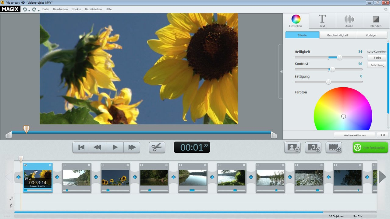 Download Free MAGIX Video easy HD 6.0