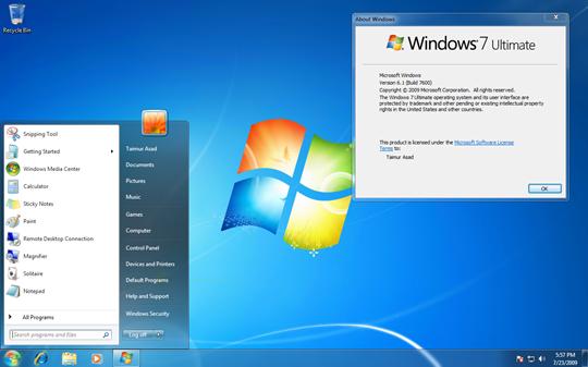 Windows 7 Ultimate x64 free download full version 64 bit