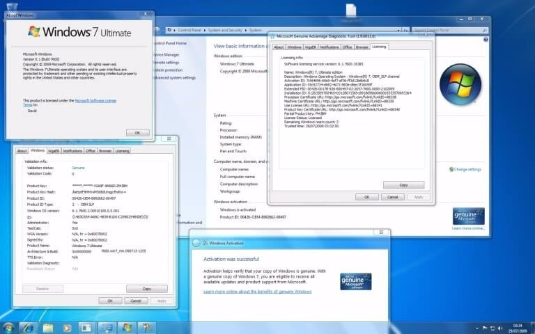 Windows 7 Ultimate x64 with Office 2010 DVD ISO