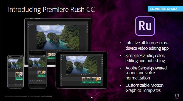 Adobe Premiere Rush CC 2020 Direct Link Download