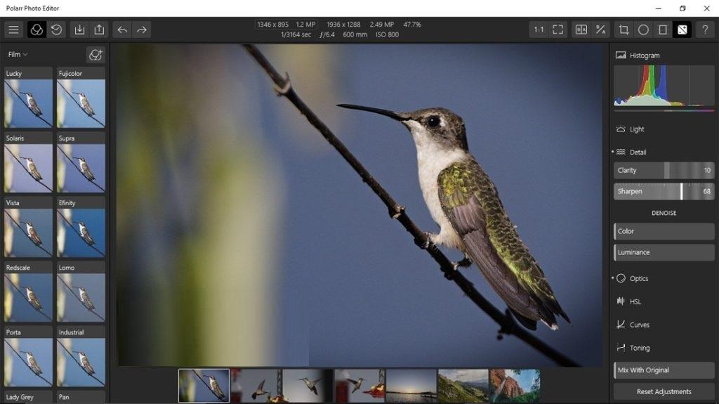 Polarr Photo Editor X64 Free Download for Windows PC